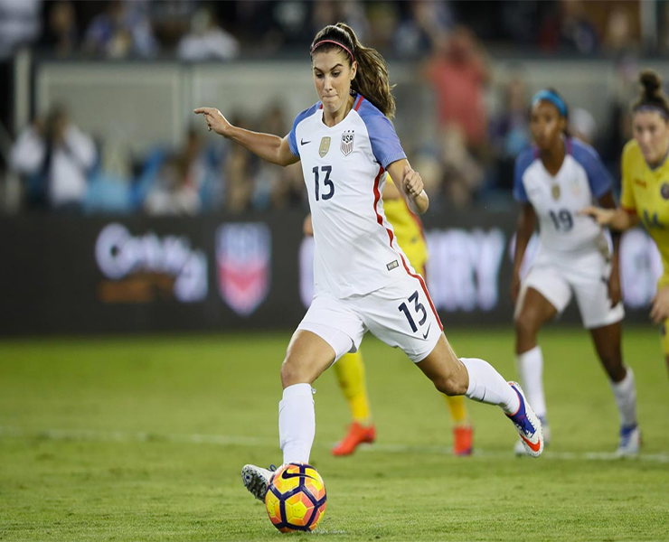 f40e402b5 13 Things You Didn t Know About Alex Morgan - Girls Soccer Network