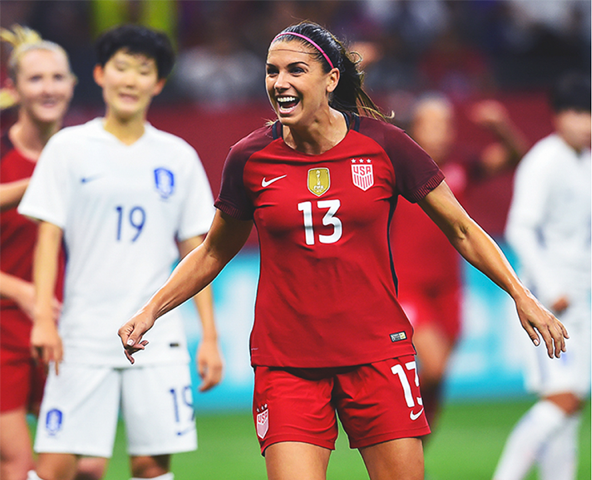 ec575293157 USWNT Takes 3-1 Win Over South Korea in New Orleans - Girls Soccer ...