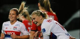 Women's soccer, Olympique Lyonaisse, Ada Hegerberg, Eugenie Le Sommer