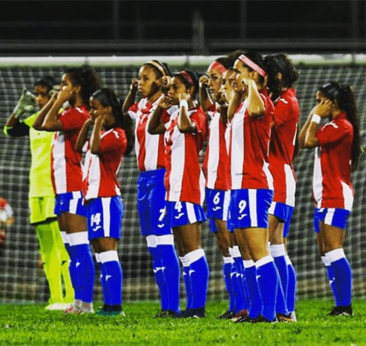 los angeles b71a0 b76d8 Puerto Rico Women's National Team Protests after Losing ...