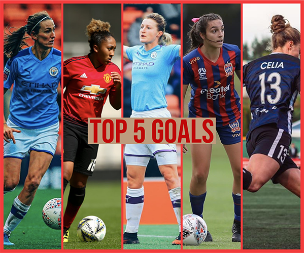 Top 5 Goals Women S Fa Cup And W League Round 11 Girls Soccer